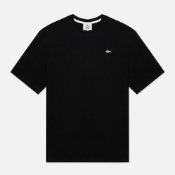 Мужская футболка Lacoste Live Crew Neck Loose Cotton Black