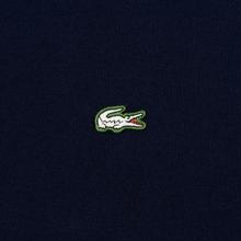 Мужская футболка Lacoste Live Crew Neck Loose Cotton Navy Blue фото- 2