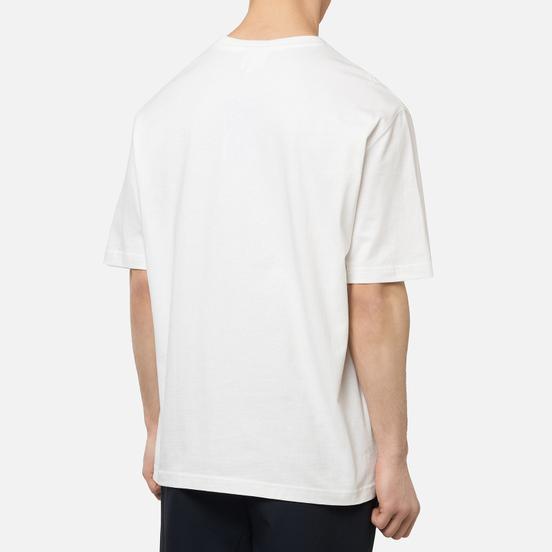 Мужская футболка Lacoste Live Crew Neck Loose Cotton White