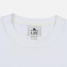 Мужская футболка Lacoste Live Crew Neck Loose Cotton White фото- 1