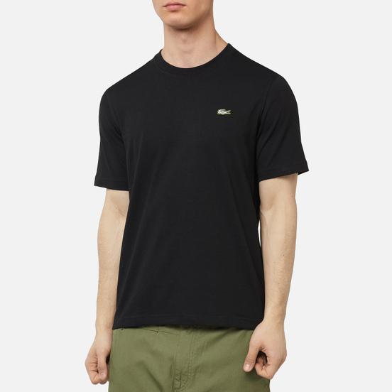 Мужская футболка Lacoste Live Embroidered Logo Black