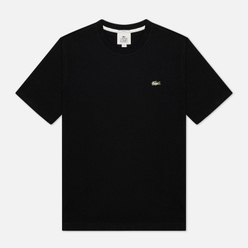 Мужская футболка Lacoste Live Embroidered Logo Black