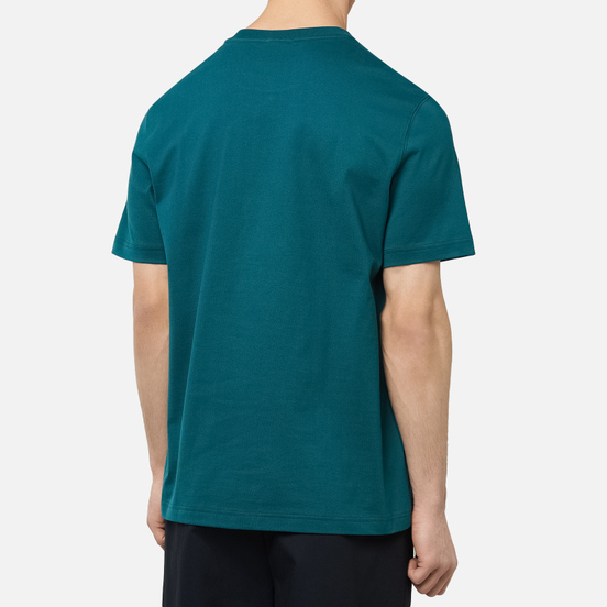 Мужская футболка Lacoste Live Tennis Design Green/White