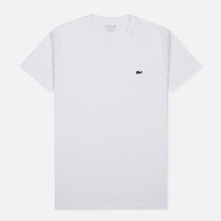 Lacoste Pima Jersey Men's T-Shirt White
