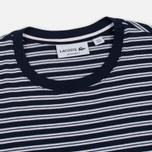 Мужская футболка Lacoste Stripe Jersey Navy/White фото- 1