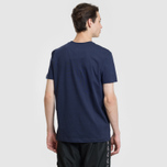 Мужская футболка Lacoste x Keith Haring Print Crew Neck Regular Fit Navy Blue фото- 3