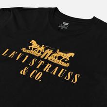 Мужская футболка Levi's 2-Horse Graphic Mineral Black фото- 1