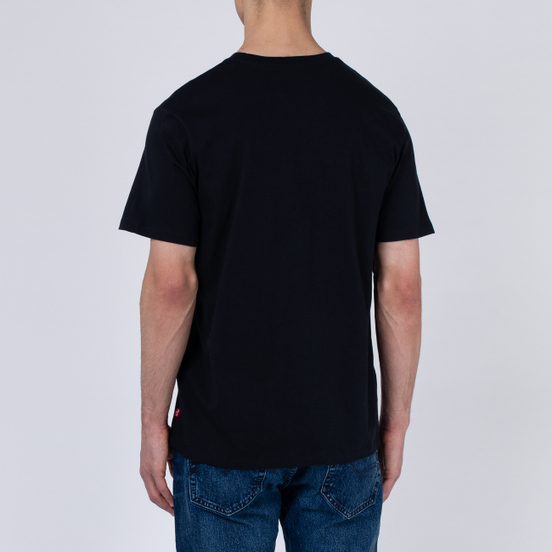 Мужская футболка Levi's 2-Horse Graphic Mineral Black