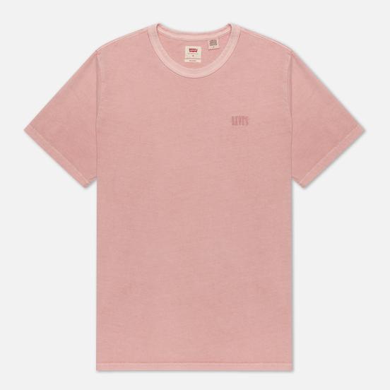 Мужская футболка Levi's Authentic Crewneck Farallon Red