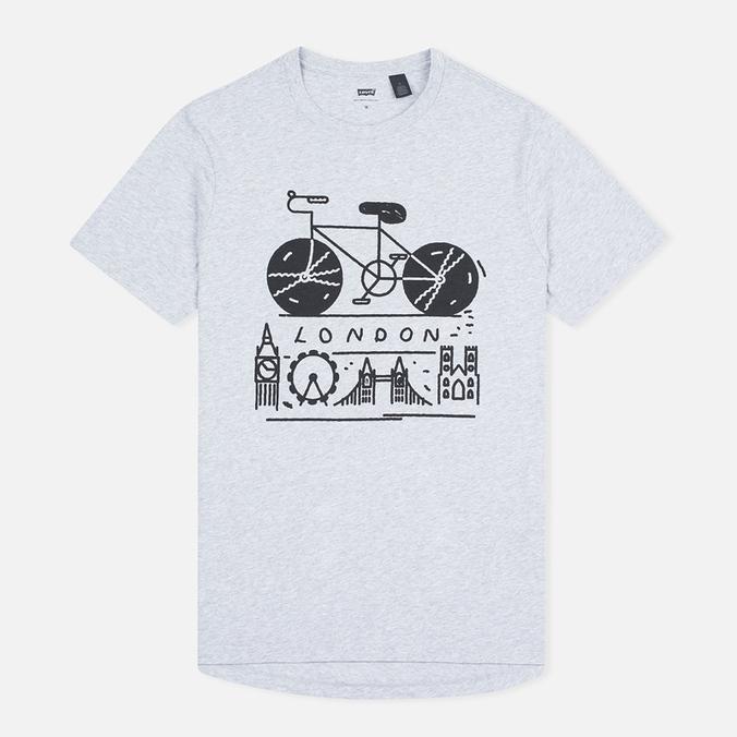Levi's Commuter London Men's t-shirt Grey Heather