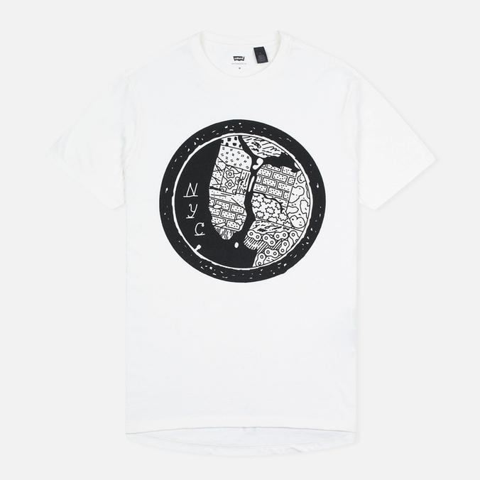 Мужская футболка Levi's Commuter NYC White