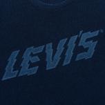 Мужская футболка Levi's Graphic Drawn Indigo фото- 2