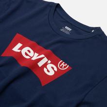 Мужская футболка Levi's Housemark Dress Blue фото- 1