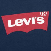 Мужская футболка Levi's Housemark Dress Blue фото- 2
