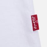Levi's Housemark Fill Men's T-Shirt White photo- 3