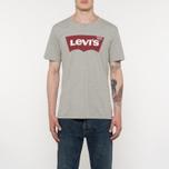 Мужская футболка Levi's Housemark Midtone Heather Grey фото- 4