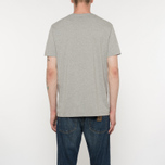 Мужская футболка Levi's Housemark Midtone Heather Grey фото- 5