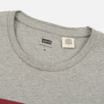 Мужская футболка Levi's Housemark Midtone Heather Grey фото- 1