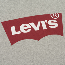 Мужская футболка Levi's Housemark Midtone Heather Grey фото- 2