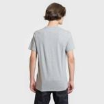 Мужская футболка Levi's Housemark Midtone Heather Grey фото- 6