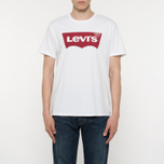 Мужская футболка Levi's Housemark White фото- 3