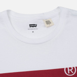 Мужская футболка Levi's Housemark White фото- 1