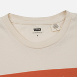 Мужская футболка Levi's Orange Tab Housemark Chalky White фото- 1