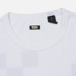 Мужская футболка Levi's Skateboarding Graphic Gothic Checkers White фото- 1