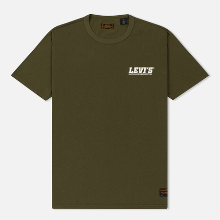 Мужская футболка Levi's Skateboarding Graphic Small Logo Olive
