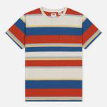 Мужская футболка Levi's Tab Pocket Stripe Orange фото- 0