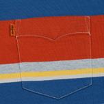 Мужская футболка Levi's Tab Pocket Stripe Orange фото- 2