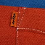 Мужская футболка Levi's Tab Pocket Stripe Orange фото- 3