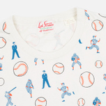 Мужская футболка Levi's Vintage Clothing 1940s Graphic Jicama Baseballs Off-White фото- 1