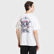 Мужская футболка Life's a Beach Deadhead White фото- 3