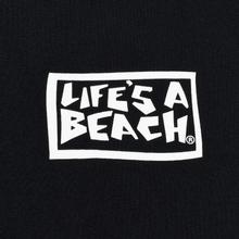 Мужская футболка Life's a Beach Flames Black фото- 2