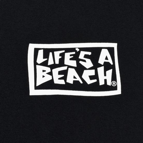 Мужская футболка Life's a Beach Flames Black