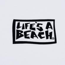 Мужская футболка Life's a Beach Flames White фото- 2