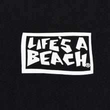 Мужская футболка Life's a Beach Psyche Tropic Black фото- 2