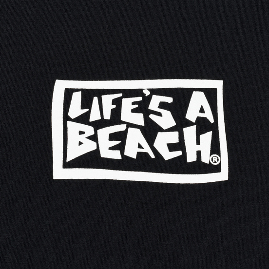 Мужская футболка Life's a Beach Psyche Tropic Black