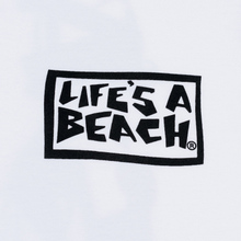 Мужская футболка Life's a Beach Psyche Tropic White фото- 2