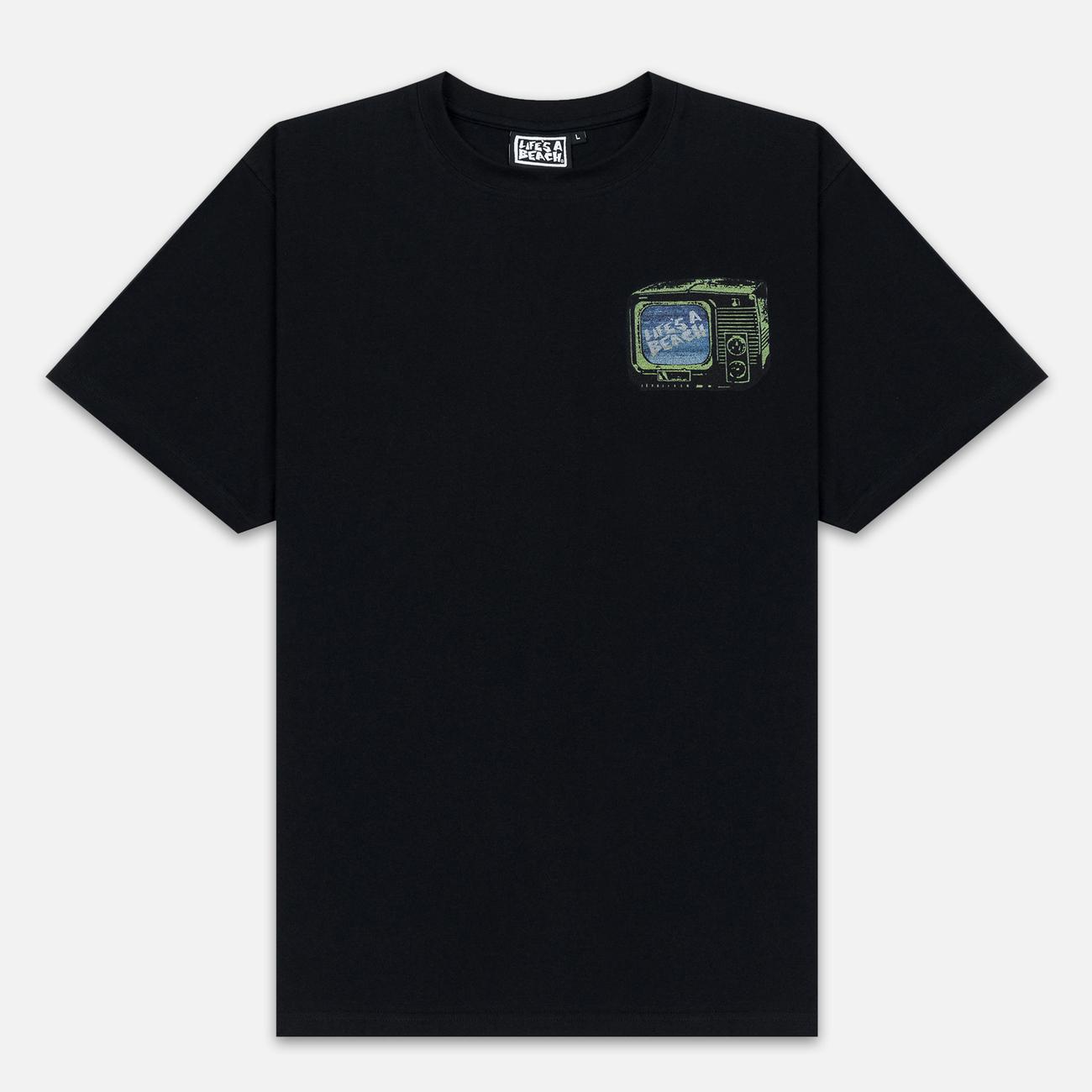 Мужская футболка Life's a Beach Stack Black