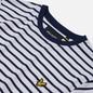 Мужская футболка Lyle & Scott Breton Stripe Navy/White фото - 1