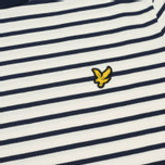 Мужская футболка Lyle & Scott Breton Stripe Off White фото- 2