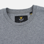 Мужская футболка Lyle & Scott Contrast Pocket Mid Grey Marl фото- 1