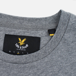 Мужская футболка Lyle & Scott Contrast Pocket Mid Grey Marl фото- 3