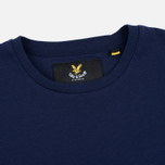 Мужская футболка Lyle & Scott Contrast Pocket Navy фото- 1