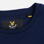 Мужская футболка Lyle & Scott Contrast Pocket Navy фото- 3