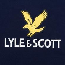 Мужская футболка Lyle & Scott Logo Navy фото- 2