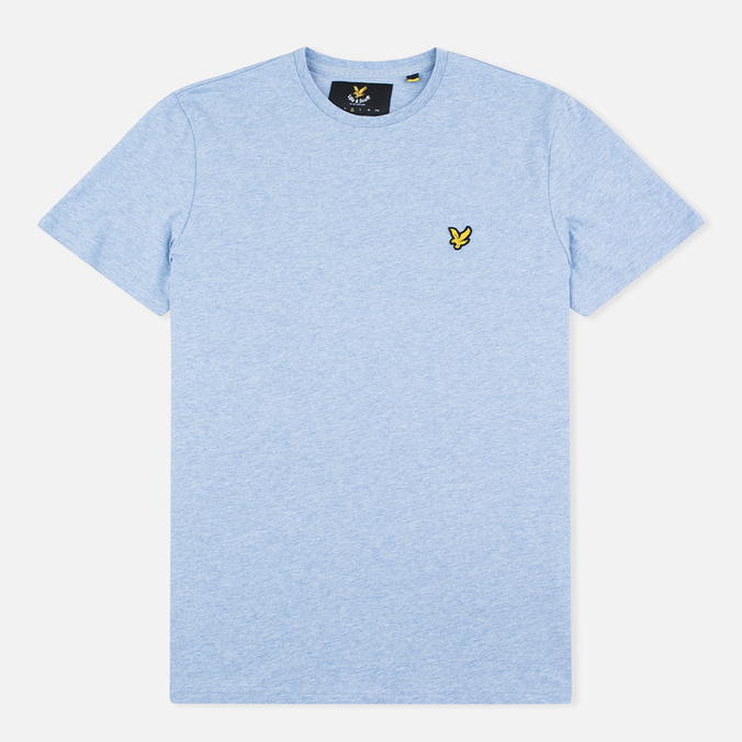 Мужская футболка Lyle & Scott Plain Crew Neck Blue Marl