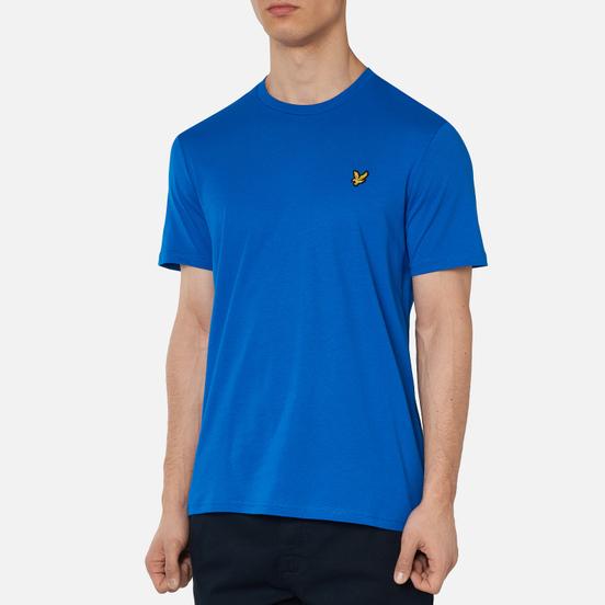Мужская футболка Lyle & Scott Plain Crew Neck Bright Cobalt